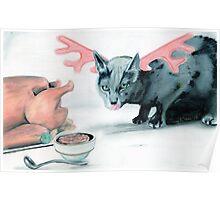 le minouche renne Poster