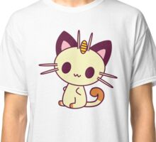 Kawaii Chibi Meowth Cat Classic T-Shirt