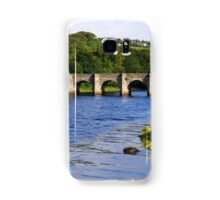 Castle Bridge, Buncrana Samsung Galaxy Case/Skin