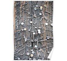 Telephone Pole, Little Rock Poster