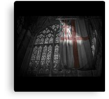 Flag at the Cathedral Canvas Print