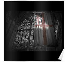 Flag at the Cathedral Poster
