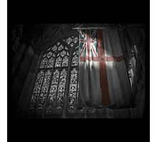 Flag at the Cathedral Photographic Print