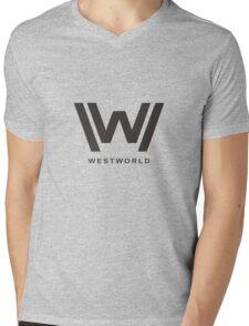 Westworld Logo Mens V-Neck T-Shirt