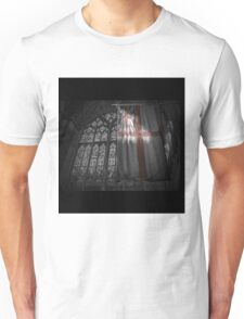 Flag at the Cathedral Unisex T-Shirt