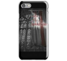 Flag at the Cathedral iPhone Case/Skin