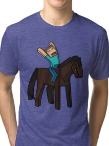 Horse Rider Tri-blend T-Shirt
