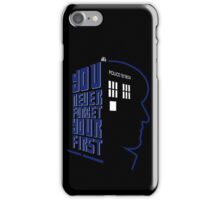 You Never Forget Your First - Doctor Who 2 Patrick Troughton iPhone Case/Skin