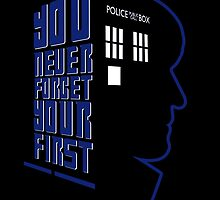 You Never Forget Your First - Doctor Who 2 Patrick Troughton by JadBean