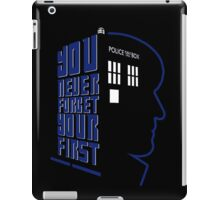 You Never Forget Your First - Doctor Who 2 Patrick Troughton iPad Case/Skin