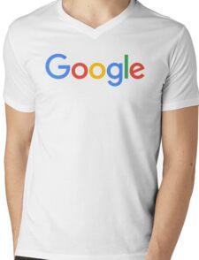 GOOGLE Mens V-Neck T-Shirt