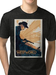 Westworld - The Vacation on the future Tri-blend T-Shirt