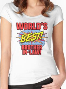World's Best Brother-In-Law Women's Fitted Scoop T-Shirt