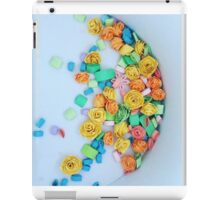 Quilled flowers iPad Case/Skin