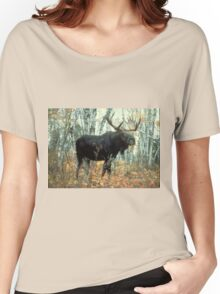 Huge Moose  Women's Relaxed Fit T-Shirt