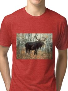 Huge Moose  Tri-blend T-Shirt