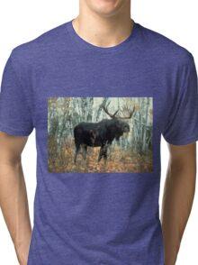 Huge Moose  Tri-blend T-Shirt