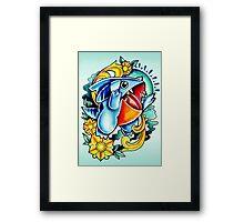Gible Framed Print