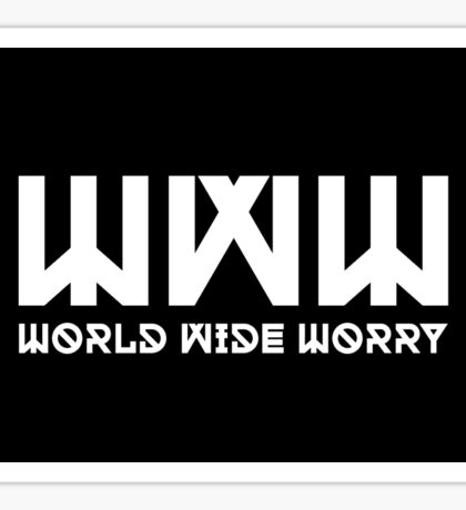 WWW Sticker