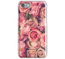 floral wall iPhone Case/Skin