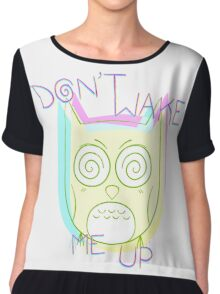 Don't Wake Me Up Chiffon Top
