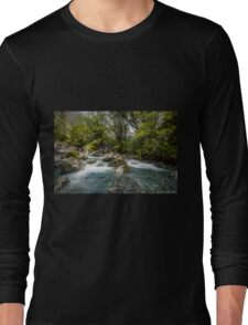 Headwaters of the Hollyford Long Sleeve T-Shirt