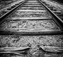 Old Train Tracks by Edward Fielding