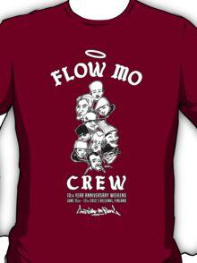 "Flow Mo 10th Year Anniversary ""CREW"" Shirt T-Shirt"