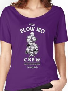 "Flow Mo 10th Year Anniversary ""CREW"" Shirt Women's Relaxed Fit T-Shirt"