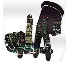 La City Skyline Poster
