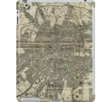 Vintage Map of Moscow (1893) iPad Case/Skin