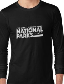 I'm Wild For the National Parks: Sea Birds Long Sleeve T-Shirt