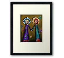Wallflowers Framed Print