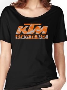 KTM Camouflage Women's Relaxed Fit T-Shirt