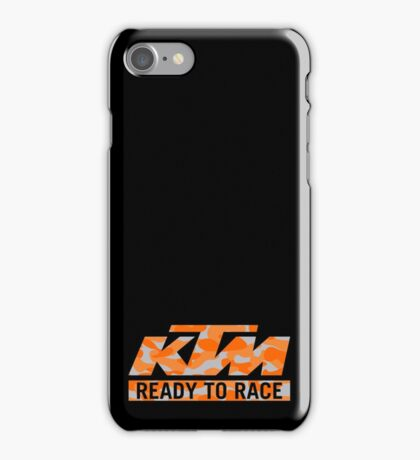 KTM Camouflage iPhone Case/Skin
