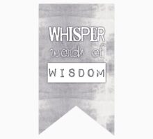 Whisper Words of Wisdom  One Piece - Short Sleeve