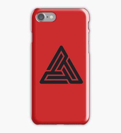 Black Pyramid Logo  iPhone Case/Skin