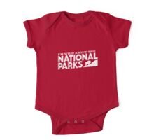 I'm Wild For the National Parks: Mountain Goat One Piece - Short Sleeve