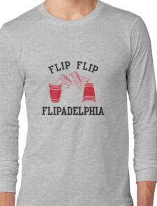 Flipadelphia - It's Always Sunny in Philadelphia Long Sleeve T-Shirt