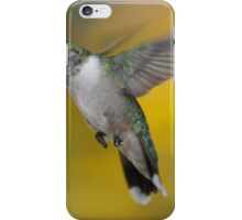 Ruby Throated Hummingbird iPhone Case/Skin