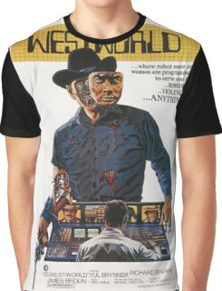 Westworld Poster Graphic T-Shirt