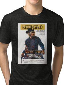 Westworld Poster Tri-blend T-Shirt