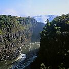 The Zambezi Gorge and the Victoria Falls by Alex Cassels