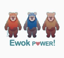 Ewok Power! Kids Tee