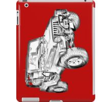 Jeep Wrangler Rubicon Illustration iPad Case/Skin