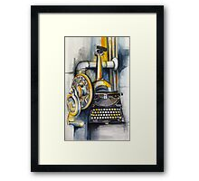The Multi-Perspective Machine Framed Print