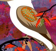BushFire Kookaburra 10 Sticker