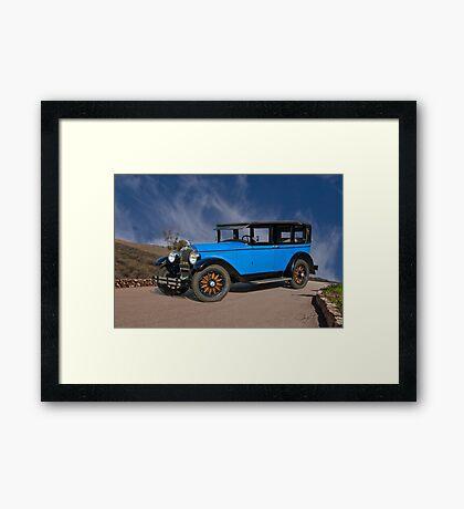 1928 Buick Master 6 Sedan Framed Print