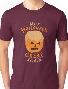 MAKE HALLOWEEN GREAT AGAIN - DONALD TRUMP PARODY TRUMPKIN Unisex T-Shirt