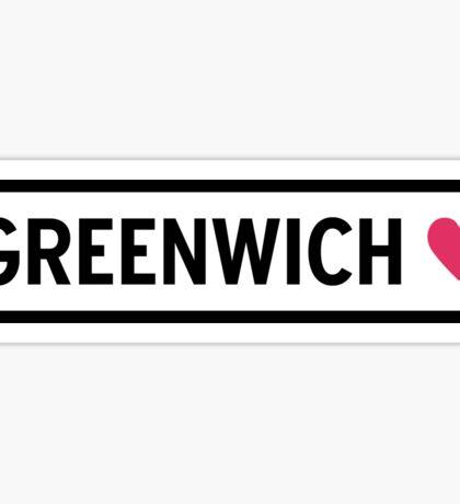 Greenwich Sticker